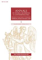 Annali di storia moderna e contemporanea | fascicolo 2013/1